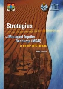 Gale, I. (2005). Strategies for MAR in semi-arid areas. UNESCO-IAH Publication.