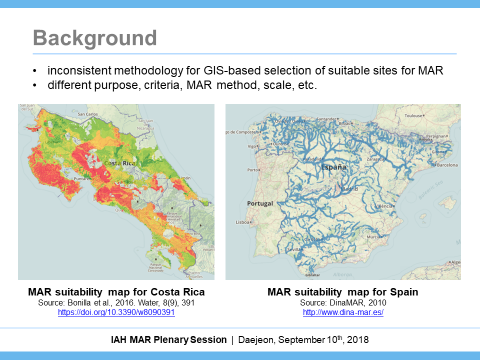 MAR Suitability Mapping - Managed Aquifer Recharge on