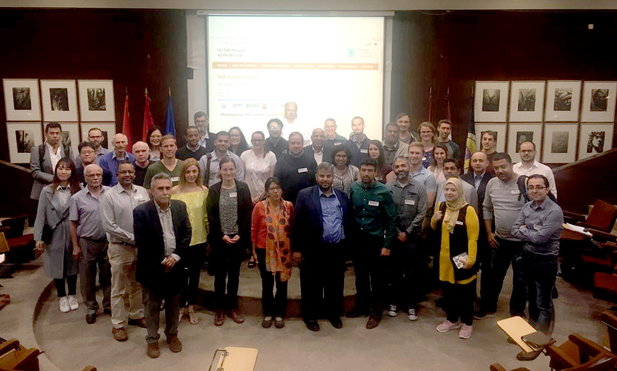Group photo with the participants of the first workshop organised by the working group on 20 May 2019 in Madrid, Spain