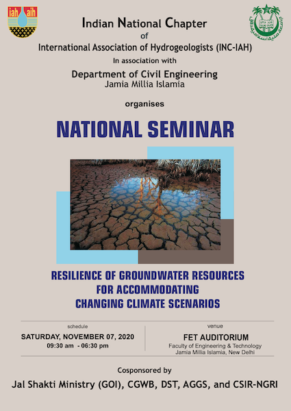 National Seminar - Indian Chapter of International Association of Hydrogeologists